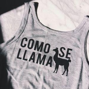 💸Final Offer💸Como Se Llama Ribbed Tank
